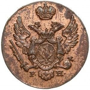 1 grosz polski 1828 F.H. - b.ładny