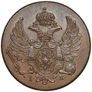 3 grosze polskie 1815 I.B., Warszawa - pierwszy rocznik - RZADKOŚĆ