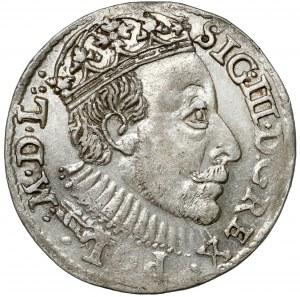Zygmunt III Waza, Trojak Olkusz 1588 - duża głowa - b.ładny