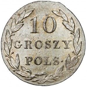 10 groszy polskich 1825 I.B. - okazowe