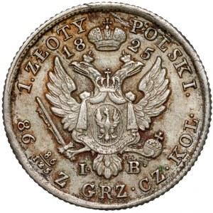 1 złoty polski 1825 I.B. - bardzo ładny