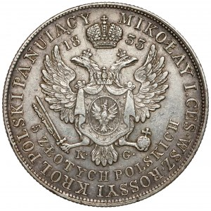 5 złotych polskich 1833 K.G.