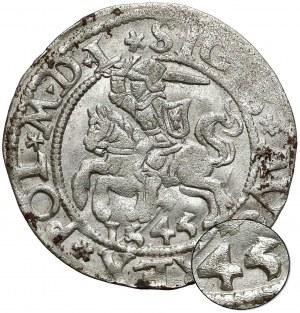 Zygmunt II August, Półgrosz Wilno 1545 - bardzo rzadki