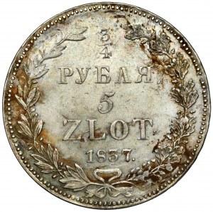 3/4 rubla = 5 złotych 1837 HГ, Petersburg