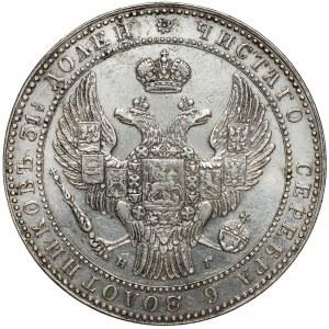 1-1/2 rubla = 10 złotych 1833 НГ, Petersburg - pierwsze
