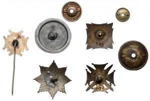 Odznaki związkowe - zestaw (5szt)