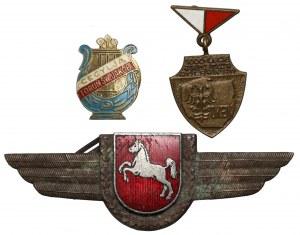 Zestaw odznak (3szt)