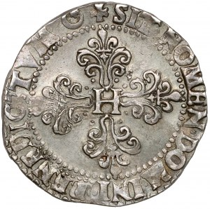 Henryk Walezy, Frank 1578-F, Angers - ładny