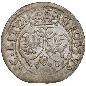 Stefan Batory, Grosz Wilno 1580 - RZADKI