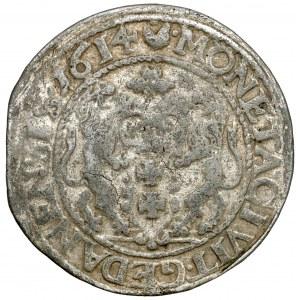 Zygmunt III, Falsyfikat z epoki Orta Gdańsk 1614 - wczesny - RZADKI