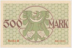 Guhrau (Góra Śląska), 500 mk 1922