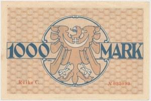 Guhrau (Góra Śląska), 1.000 mk 1922