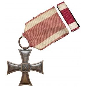 II RP, Krzyż Walecznych - BEZ daty - Albin Różycki - b.rzadki