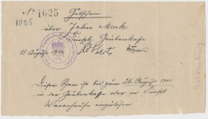 Waldenburg (Wałbrzych), 10 mk 1914