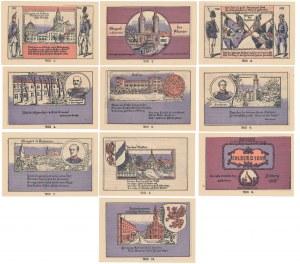 Stargard in Pommern (Stargard Szczeciński), KOMPLET 10x 1 mk 1922 (10szt)