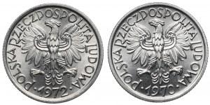 2 złote 1970 i 1972 (2szt)