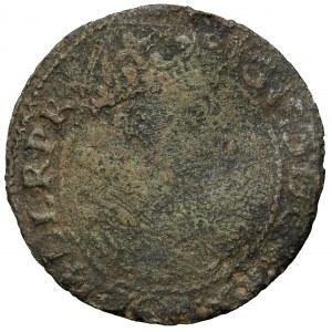 Zygmunt III, Falsyfikat z epoki Orta Gdańsk 1614 - bez srebrzenia