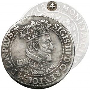 Zygmunt III Waza, Ort Gdańsk 1618 SB - WĄSY - b.rzadki