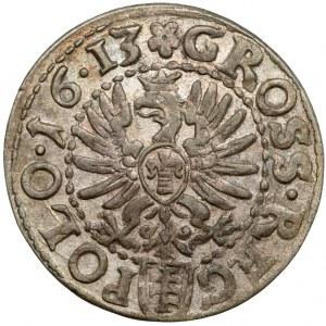 Zygmunt III Waza, Grosz Kraków 1613 - późny