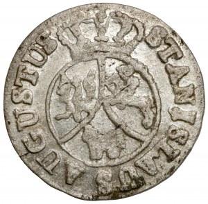 Poniatowski, 6 groszy 1795 - b.ładne