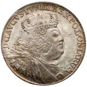 August III Sas, Ort Lipsk 1756 EC - masywne popiersie - piękny