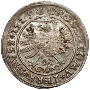 Zygmunt I Stary, Grosz Toruń 1529 - PRV/PO - piękny