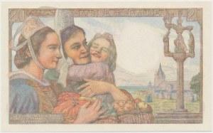 France, 20 Francs 1943