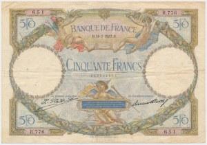 France, 50 Francs 1927