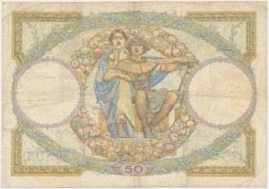 France, 50 Francs 1933