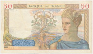 France, 50 Francs 1935