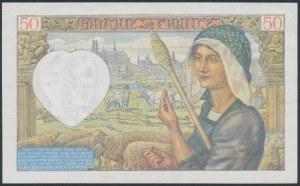 France, 50 Francs 1941