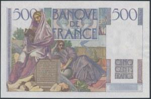 Francja, 500 Francs 1952