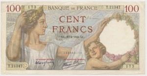 Francja, 100 Francs 1941