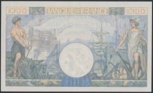 Francja, 1.000 Francs 1944