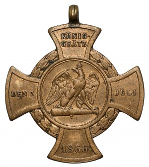 Niemcy, Prusy, Krzyż Bitwy pod Königgrätz (Sadowa) 1866
