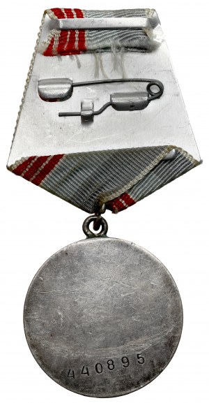 ZSRR, Medal za Odwagę #440895 (1943)