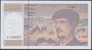 France, 20 Francs 1997
