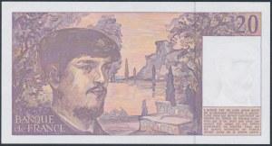 France, 20 Francs 1993