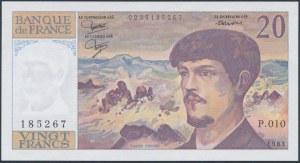 France, 20 Francs 1983