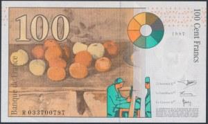 France, 100 Francs 1997
