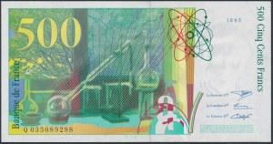 Francja, 500 Francs 1995 Maria Curie-Skłodowska