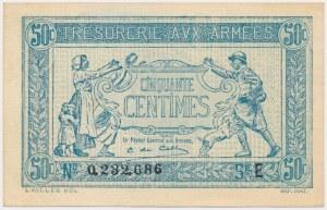 France, Army Treasury 50 Centimes (1917)