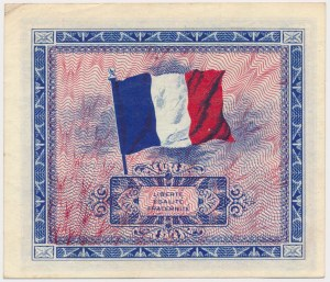 France, Allied Occupation WWII, 10 Francs 1944
