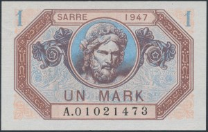 Saar, 1 Mark 1947