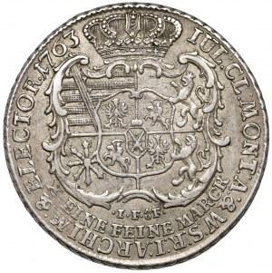 Fryderyk Chrystian, Talar 1763 IFóF, Lipsk