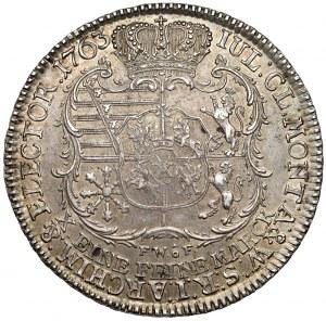 Fryderyk Chrystian, Talar 1763 FWóF, Drezno - piękny