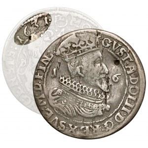 Zygmunt III Waza, Ort ELBLĄG 1631 Gustawa II Adolfa - RZADKOŚĆ
