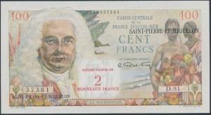Saint-Pierre i& Miquelon, 100 Francs (1950-60)