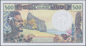 French Pacific Territories, 500 Francs (1992)