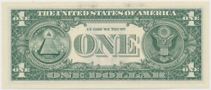 United States, 1 Dollar 2017 - replacement - star note